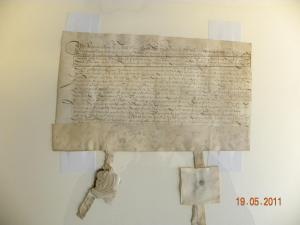 Charter Sluis 1626