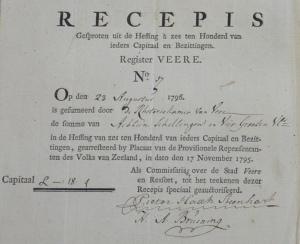 ZA 2515 06 Veere Bijlagen Rekeningen 1740 1795 p 41