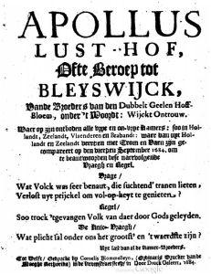 Bleiswijk titel