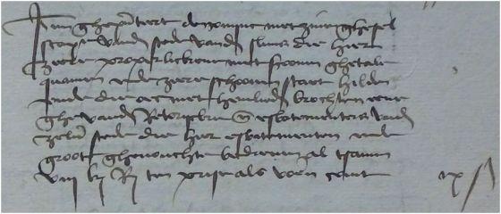 Sluis 1483 te Hulst